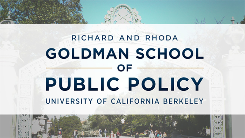 Richard and Rhoda Goldman School of Public Policy at UC Berkeley