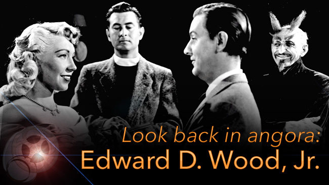 LOOK BACK IN ANGORA: EDWARD D. WOOD, JR.