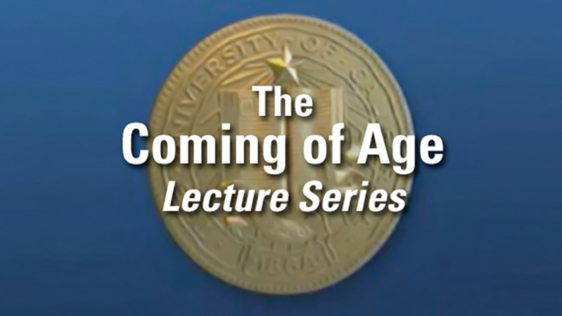 Coming of Age Lecture Series