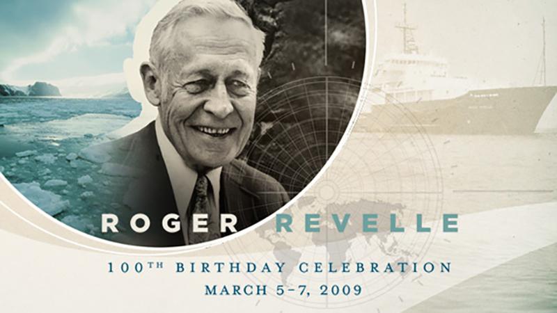 Roger Revelle Centennial Symposium
