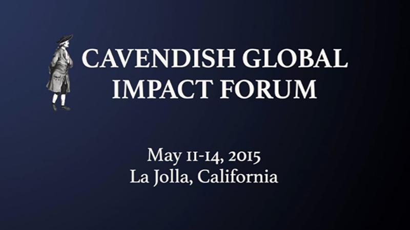 Cavendish Global Impact Forum 2015
